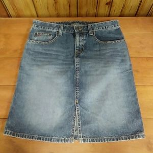 American eagle Outfitters blue jean skirt